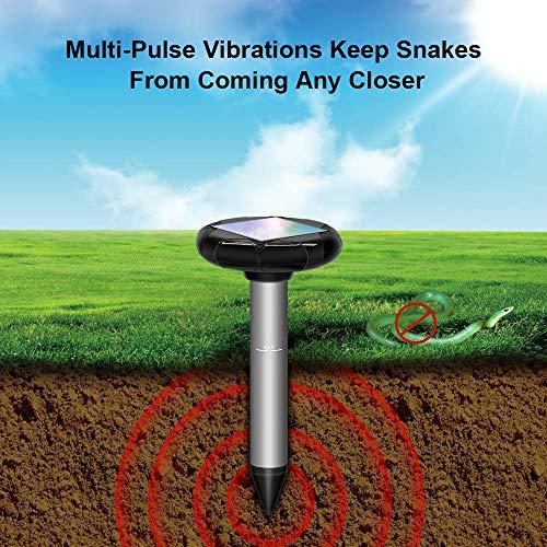 répulsif à énergie solaire, serpent,